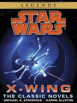 The X-Wing Series: Star Wars 9-Book Bundle: Rogue Squardon, Wedge's Gamble, The Kryptos Trap, The Bacta War, Wraith Squadron, Iron Fist, Solo Command, Isard's Revenge, Starfighters of Adumar
