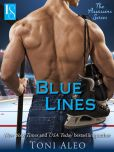 Book Cover Image. Title: Blue Lines:  The Assassins Series: A Loveswept Contemporary Romance, Author: Toni Aleo
