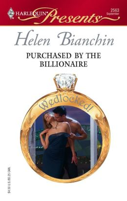 Purchased by the Billionaire (Harlequin Presents Series #2563)