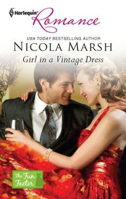Girl in a Vintage Dress