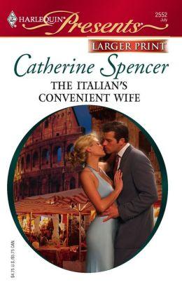 The Italian's Convenient Wife