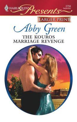 The Kouros Marriage Revenge