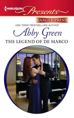The Legend of de Marco (Harlequin LP Presents Series #3092)