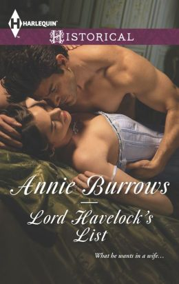 Lord Havelock's List (Harlequin Historical Series #1200)