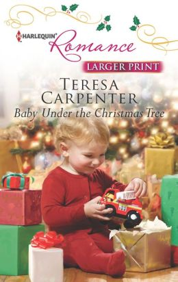 Baby Under the Christmas Tree (Harlequin LP Romance Series #4355)