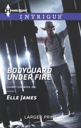 Bodyguard Under Fire (Harlequin LP Intrigue Series #1446)