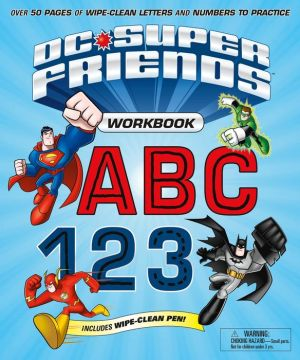DC Super Friends Wipe Clean Workbook, ABC 123