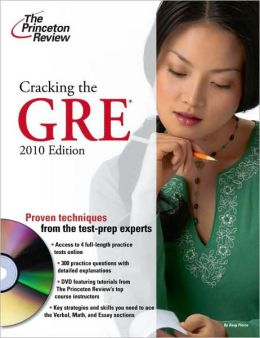 Cracking the GRE with DVD, 2010 Edition