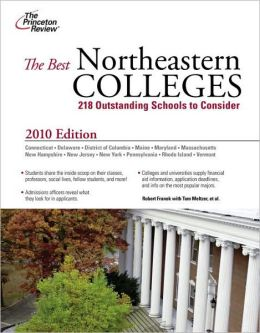 The Best Northeastern Colleges 2010