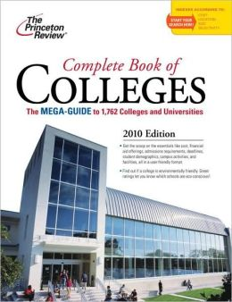 Complete Book of Colleges 2010