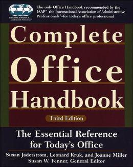 Complete Office Handbook: Third Edition