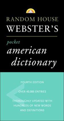 Random House Webster's Pocket American Dictionary