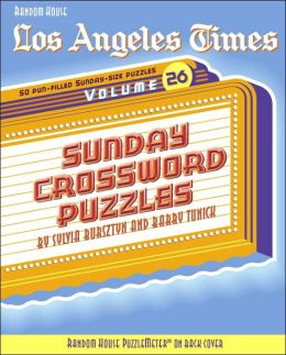 Sunday Crossword Puzzles