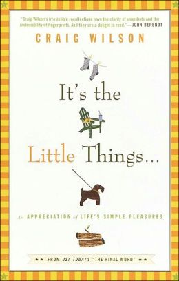 It's the Little Things...: An Appreciation of Life's Simple Pleasures