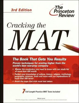 Cracking the MAT, 3rd Edition