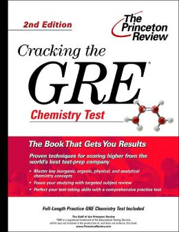 Cracking the GRE Chemistry Test