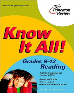 Know It All! Grades 9-12 Reading