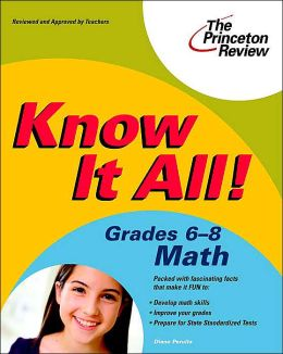 Know It All! Grades 6-8 Math