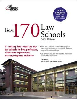 Best 170 Law Schools, 2008 Edition