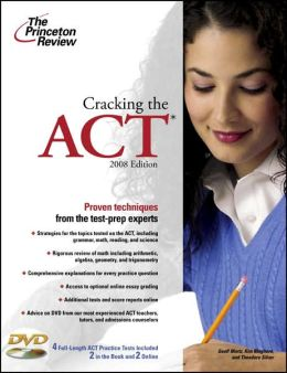 Cracking the ACT with Dvd, 2008 Edition