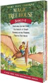 Book Cover Image. Title: Magic Tree House Boxed Set:  Books 1 - 4 (Magic Tree House Series), Author: Mary Pope Osborne