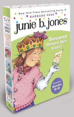 Junie B. Jones's Second Boxed Set Ever!: Books 5-8