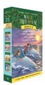Book Cover Image. Title: Magic Tree House The Mystery of the Ancient Riddles Boxed Set #3:  Book 9 - 12 (Magic Treehouse Series), Author: Mary Pope Osborne