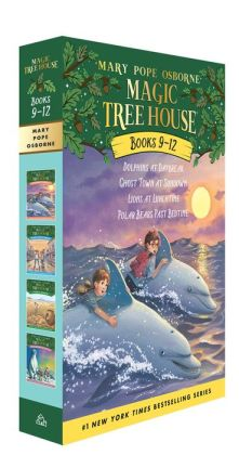 Magic Tree House The Mystery of the Ancient Riddles Boxed Set #3: Book 9 - 12 (Magic Treehouse Series)