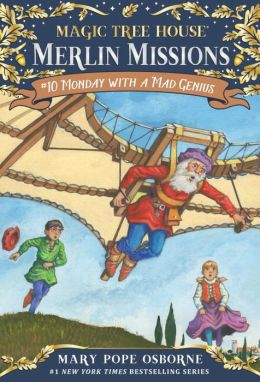 Monday with a Mad Genius (Magic Tree House Series #38)