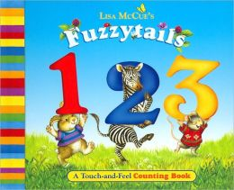 Fuzzytails 123: A Touch-and-Feel Counting Book