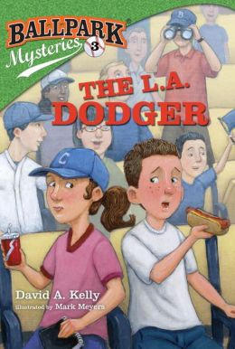 The L.A. Dodger (Ballpark Mysteries Series #3)