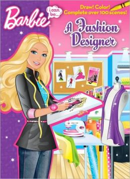 I Can Be A Fashion Designer Barbie Series By Mary Man Kong 9780375872594 Paperback