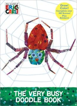 The Very Busy Doodle Book (The World of Eric Carle)