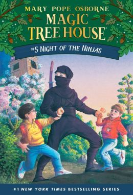 Night of the Ninjas (Magic Tree House Series #5)