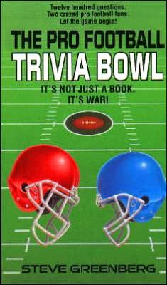 Pro Football Trivia Book