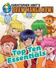 Book Cover Image. Title: Top Ten Essentials:  Christopher Hart's Draw Manga Now!, Author: Christopher Hart