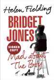 Book Cover Image. Title: Bridget Jones:  Mad About the Boy (Signed Edition), Author: Helen Fielding