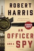 Book Cover Image. Title: Officer and a Spy (Signed Book), Author: Robert Harris