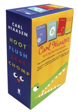 Hiaasen 4-Book Trade Paperback Box Set (Chomp, Flush, Hoot, Scat)