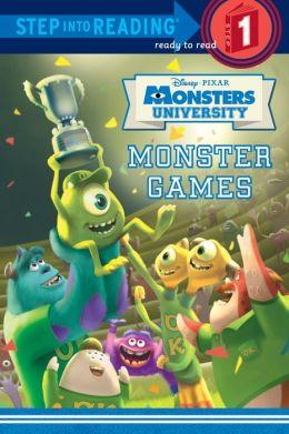 Monster Games (Disney/Pixar Monsters University)