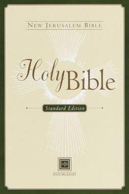 New Jerusalem Bible, Standard Edition: black bonded leather
