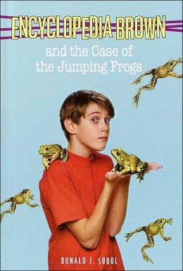 Encyclopedia Brown and the Case of the Jumping Frogs (Encyclopedia Brown Series #23)