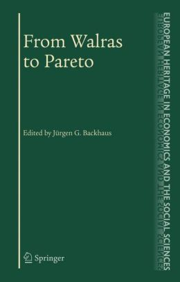 From Walras to Pareto