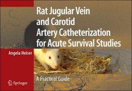 Rat Jugular Vein and Carotid Artery Catheterization for Acute Survival Studies: A Practical Guide