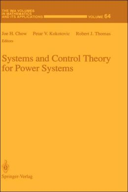 Systems and Control Theory for Power Systems