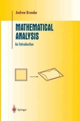 Mathematical Analysis: An Introduction