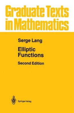 Elliptic Functions