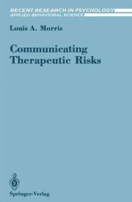 Communicating Therapeutic Risks