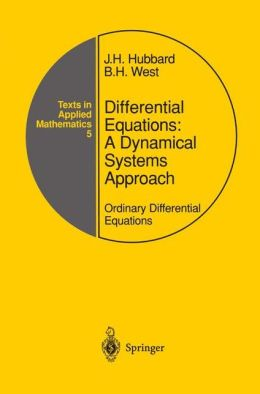 Differential Equations: A Dynamical Systems Approach: Ordinary Differential Equations