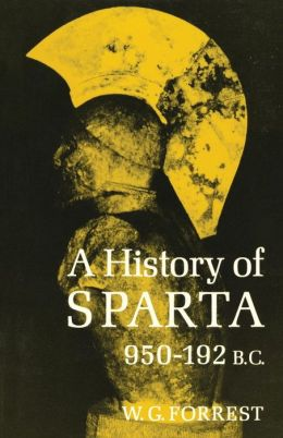 A History of Sparta: 950-192 B.C.